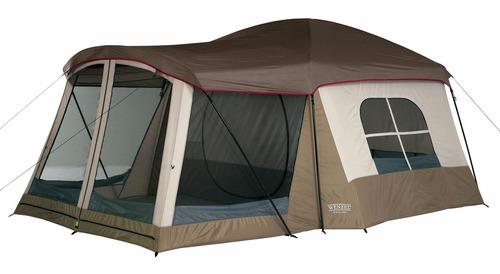Carpa De Camping Para 8 Personas, Grande Con Cuarto Con