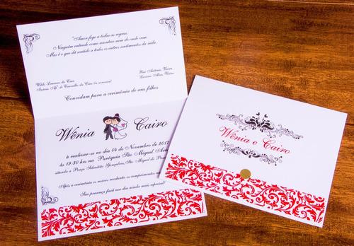 Imagem 1 de 8 de 35 Convite Casamento, 15 Anos, Bodas De Ouro
