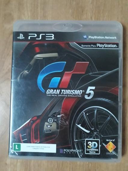 Gran Turismo 5 Ps3 Midia Fisica Usado