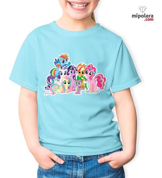 Poleras Estampadas Personalizadas My Little Pon Mps Mipolera