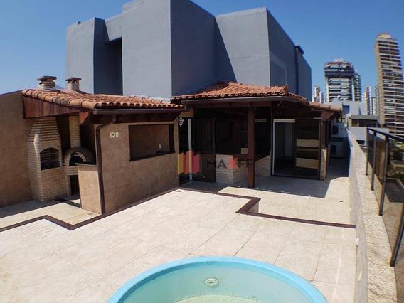 Maravilhosa Cobertura No Posto 05 Da Barra. No Condomínio Aldeia Do Mar! - Co0063