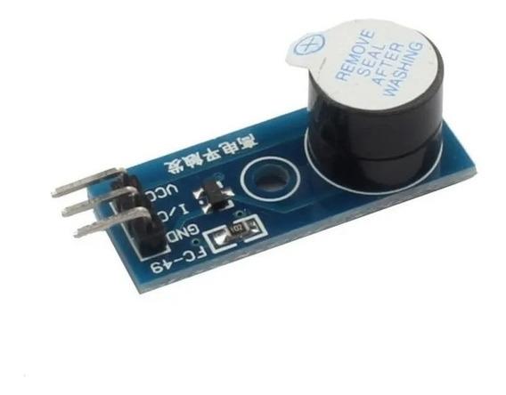 Módulo Buzina Buzzer Ativo Arduino Emissor Som
