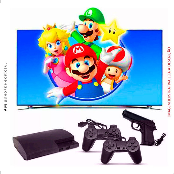 Super Video Game Retro Polystation 3 Nes Super Mario 999