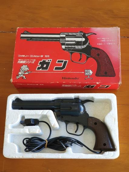 Pistola Nintendo Family Computer Nes Original Japonês Caixa