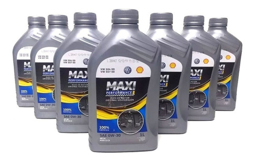 Kit 7l Óleo Sintético Amarok Maxi Performace 5w30  G052195r2