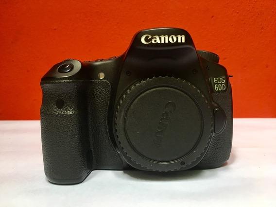 Canon 60d + 1 Cartão Sd16gb + Bateria E Carregador + Case