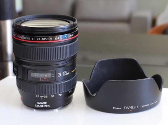 Canon 28-105 Is F4l Impecável