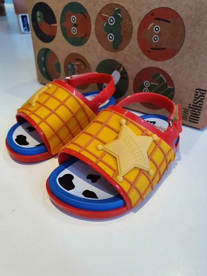 Sandalias Mini Melissa Beach Slide Toy Story