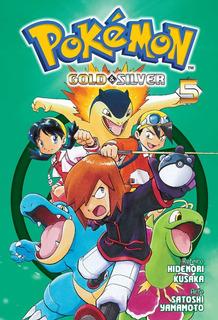 Pokémon Gold & Silver 5! Mangá Panini! Novo E Lacrado!