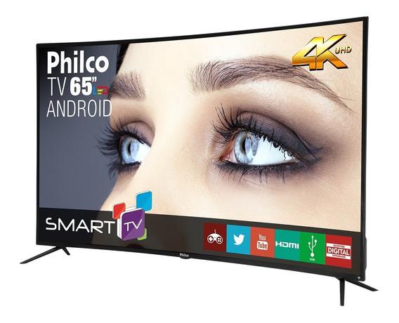 Tv Philco Led 65 4k Curve Ptv65a16sa Bivolt