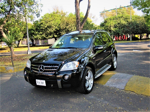 Mercedes Benz Ml-63 Amg 2008 Solo 74 Mil Km Impecable
