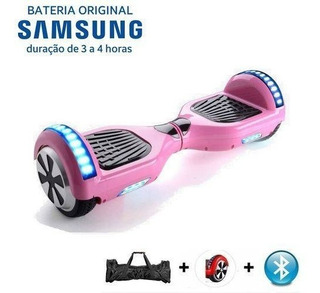 Hoverboard - Rosa - 6 Leds + Bolsa / Retire Rj - Loja Fisica