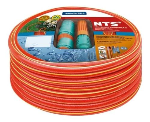 Mangueira Nts® 1/2 Tramontina Antitorção Vermelha 30 Metros