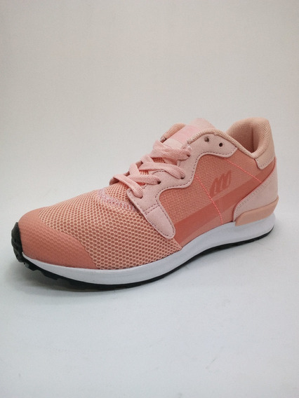 Zapatilla Dufour Flow Rosa T 36 37 38 39 40 Mujer Deportiva