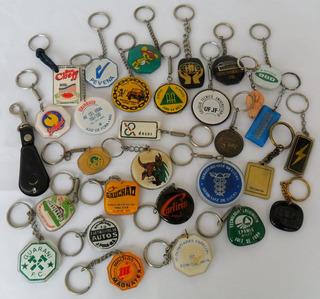Chaveiro Antigo Lote Com 30 Peças Diversas Para Coleção La