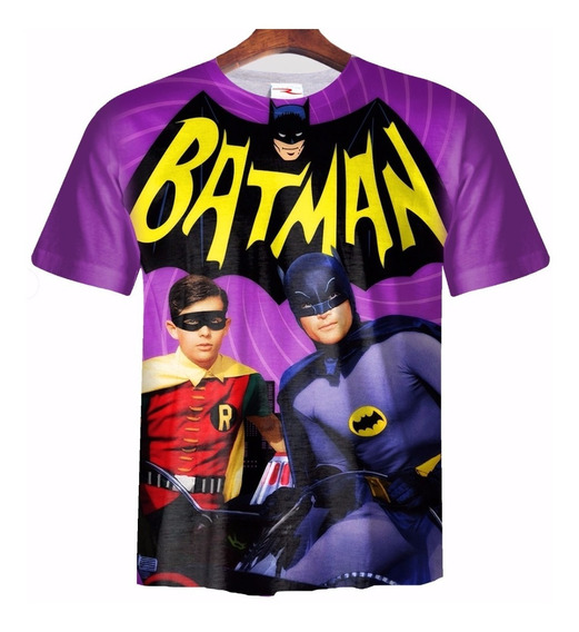Remera Batman Y Robin Ranwey Pr172