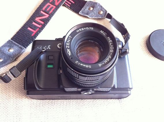 Câmera Fotografica Antiga Marca Zenit 122 *