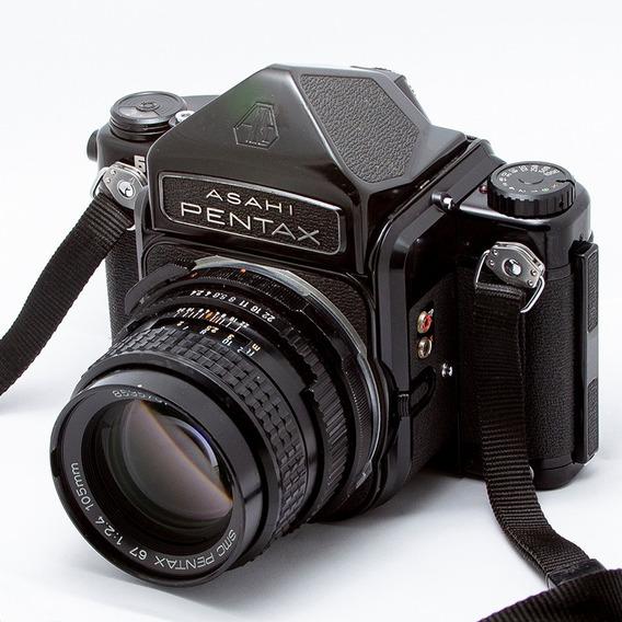 Pentax 6x7 + Visor Prismático + 105mm 1:2.4