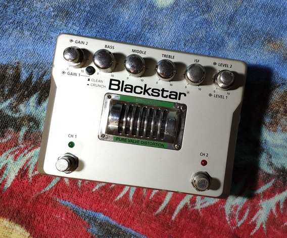 Blackstar Ht-dual Pure Valve Distortion C/ Fonte - Willaudio
