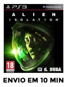 Alien Isolation Ps3 Psn Envio 10 Minutos