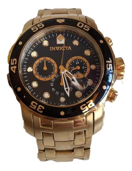 Relógio Invicta Masculino Pro Diver 0077 Original Usado Top