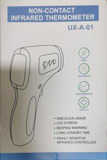 Termômetro Digital Infravermelho Medir Febre A Distância