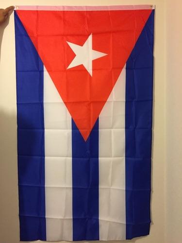 Imagen 1 de 2 de Bandera Cubana De 90x150