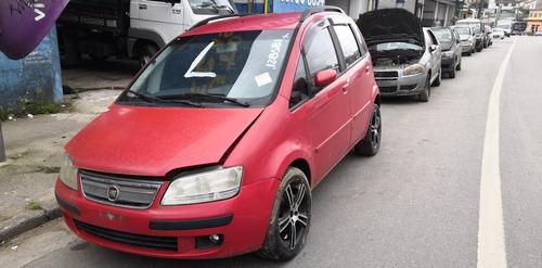 Fiat Idea Elx Flex 2006 2007 (sucata Somente Peças)