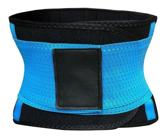S - Blue - Cinturón Unisex Xtreme Energía Caliente Adel-7966