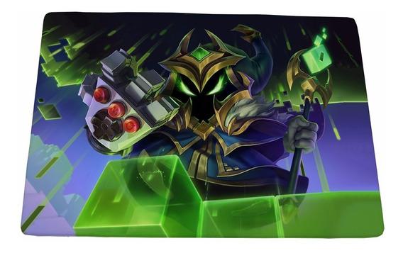 Mouse Pad Gamer Veigar Chefão Final - 25x35cm Frete Grátis
