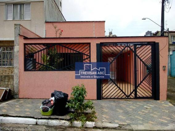 Casa Para Locação Planalto Sbc, 2 Dorms, 2 Vagas, Imóvel Vago. - Ca0344