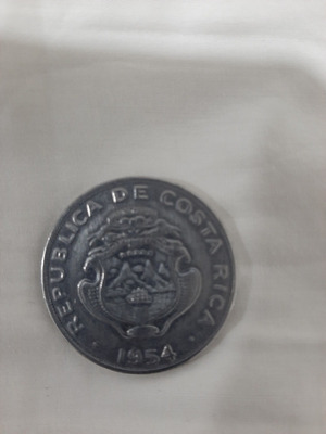 Moneda 2 Colones Costarica