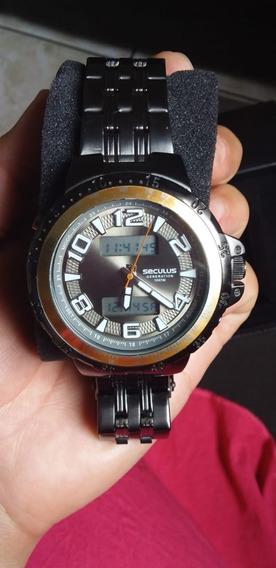 Relógio Seculus Original Preto