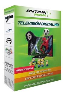 Pack Antina Prepago Television Hd Reacondicionado
