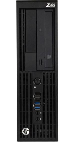 Cpu Hp Z230 E3-1245 4gb Hd 500gb A Pronta Entrega Com Garant