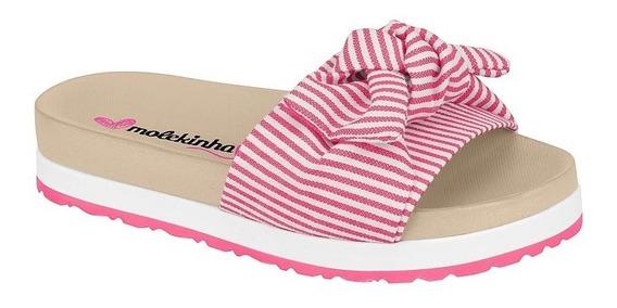 Tamanco Infantil Molekinha Birken Multi Pink