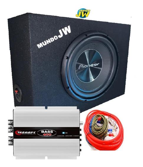 Combo Pioneer 300 Sub + Potencia Digital + Caja Slot New 311