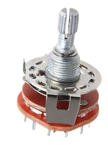 Potenciometro Rotativo (rotary Switch) 2p6t - Alpha