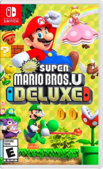 Super Mario Bros U Deluxe En Switch Nuevo Y Sellado.