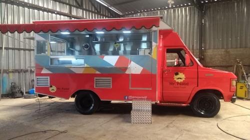 Food Truck Para F200 (montagem Sem O Veículo)