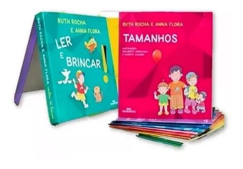 Coleção Ler E Brincar Ruth Rocha 12 Volumes