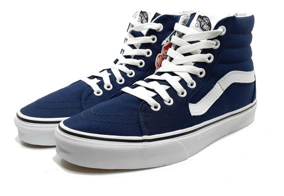Vans Tenis Sk8 Hi Skate Shoe Azul 497096 Unisex