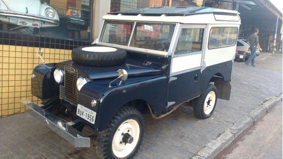 Jeep Land Rover 1956 Curto De Alumínio Original Raridade 4x4