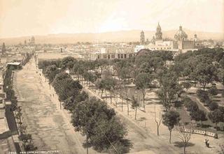 Lienzo Tela Fotografía Vista San Luis Potosí 1897 50 X 72 Cm