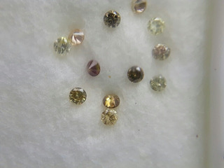 Lote Diamantes Naturais Vvs 0,22ct L1