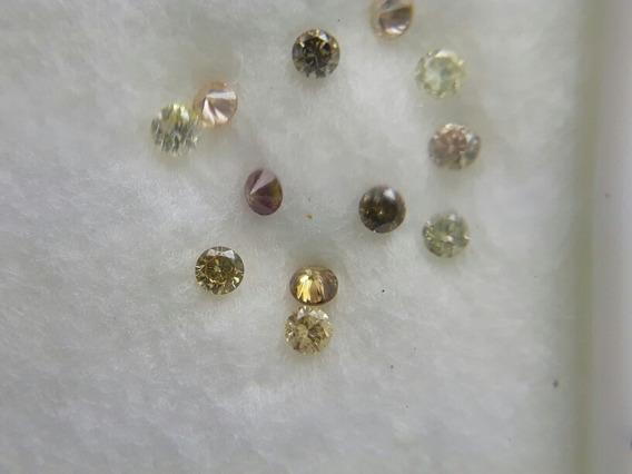 Lote Diamantes Naturais Vvs 0,22ct L1