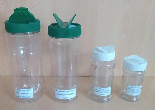 Envase Especias/condimentos 443gr Tapa Q/s C/liner 63mm
