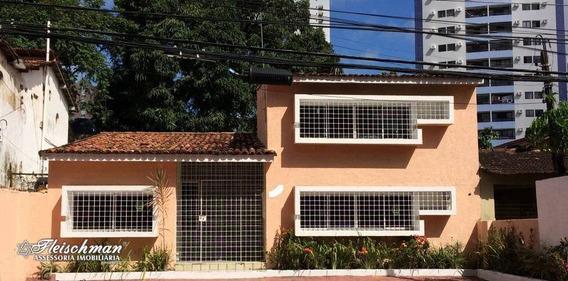 Casa Com 3 Dormitórios À Venda, 219 M² Por R$ 698.000 - Torre - Recife/pe - Ca0279