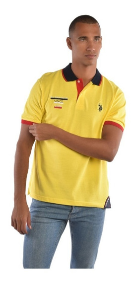 Polo Regular Fit U.s. Polo Multicolor Uslpm447382 Hombre