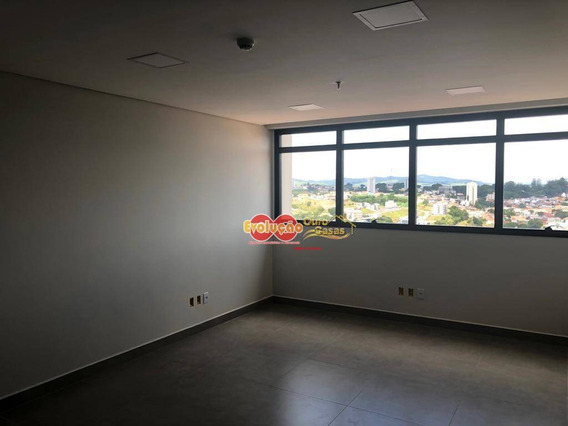 Sala Situada No Edifício Comercial Praxx, 3 Min Do Centro Do Município De Itatiba-sp. - Sa0186